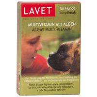 Lavet algavitaminos tabletta kutyáknak