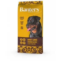 Visán Optima / Banters Dog Adult Large Breed Chicken & Rice
