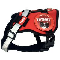 Yutipet RnD párnázott biztonsági kutyahám (Piros)