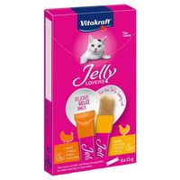 Vitakraft Jelly Lovers zselés jutalomfalat csirkével és pulykával macskáknak