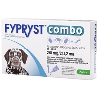 Fypryst Combo spot on kutyáknak   Élősködők elleni védelem