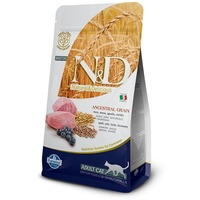 N&D Cat Adult Lamb & Blueberry Low Grain macskaeledel