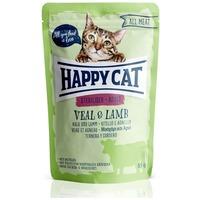 Happy Cat All Meat Sterilised alutasakos eledel borjú- és bárányhússal