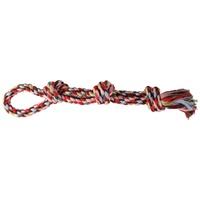 Trixie Denta Fun dupla csomós színes rágókötél kutyának