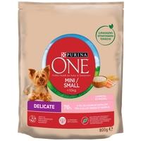 Purina One Mini/Small Delicate lazaccal és rizzsel | Száraz kutyaeledel kistestű kedvenceknek