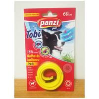 Panzi Tobi bolha- és kullancsirtó nyakörv kutyáknak