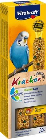 Vitakraft Kracker Feather Care dupla rúd tollváltó hullámosnak