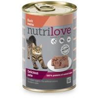 Nutrilove Cat kacsahúsos pástétom konzervben