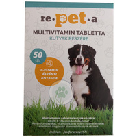 Re-pet-a multivitamin tabletta kutyáknak