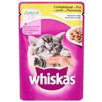 Whiskas Junior csirkehúsos eledel aszpikban