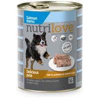 Nutrilove Dog lazacos pástétom konzervben