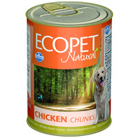 Ecopet Natural konzerv kutyáknak csirkés