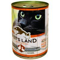 Pet's Land Cat konzerv baromfival