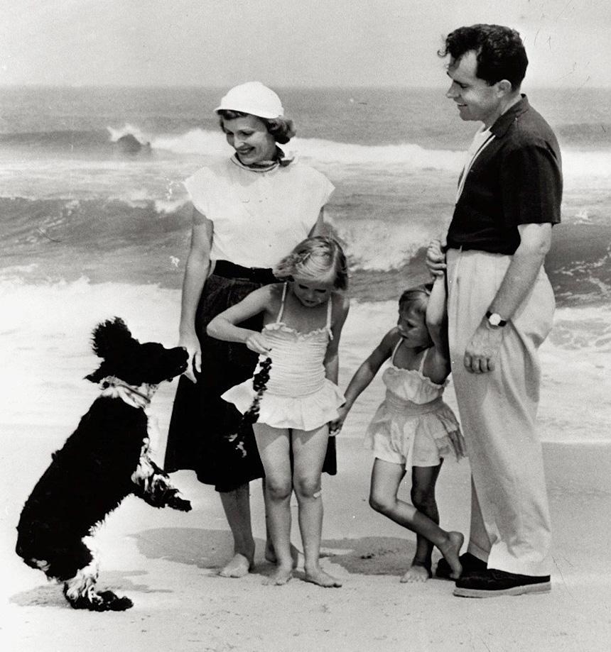 Checkers és a Nixon család