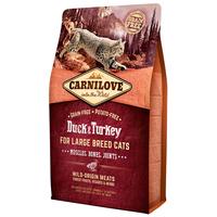 CarniLove Cat Muscles, Bones & Joints Large Breed kacsa- és pulykahússal | Száraztáp nagytestű macskáknak
