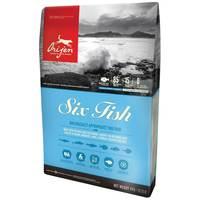 Orijen Six Fish | Hat ízletes halfajtából készült száraztáp kutyáknak