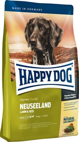 Happy Dog Supreme Sensible Neuseeland | Bárányhúsos kutyatáp