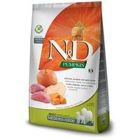 N&D Dog Grain Free Adult Medium/Maxi sütőtök, vaddisznó & alma