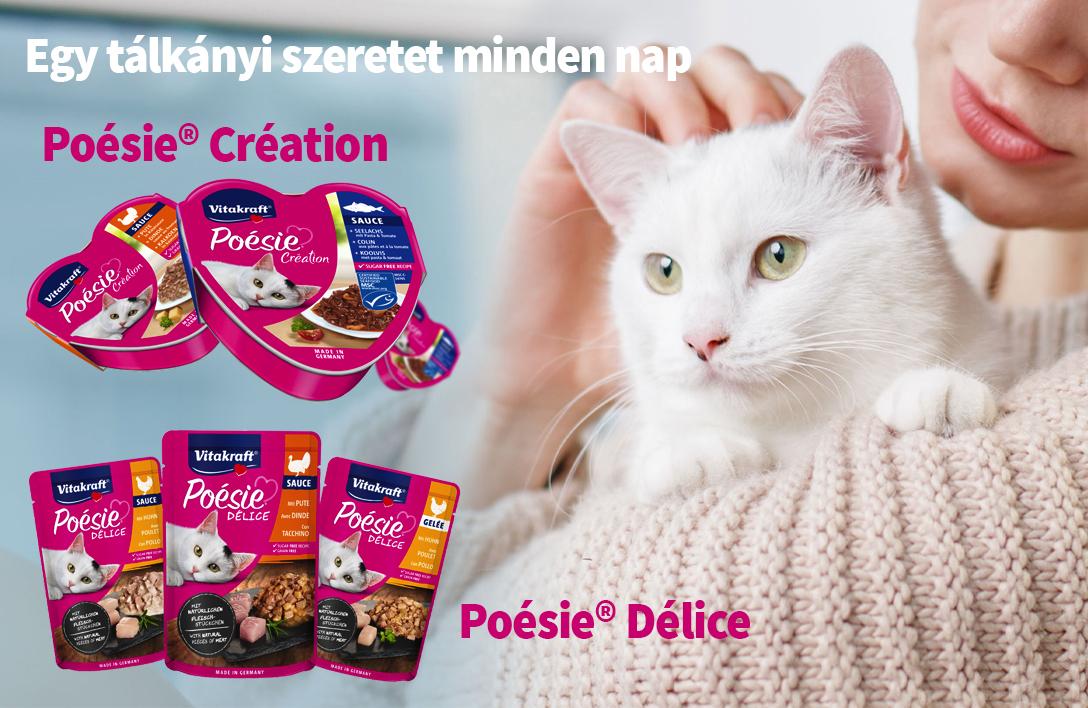 Vitakraft Poésie alutálcás és alutasakos macskaeledelek