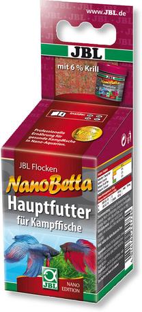 JBL NanoBetta alapeleség bettáknak 6% krillel