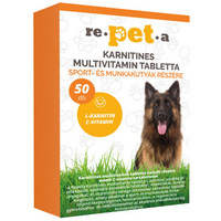 Re-pet-a karnitines multivitamin tabletta kutyáknak