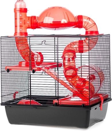 Rocky Lux hörcsög ketrec terasszal - 420 x 290 x 500 mm