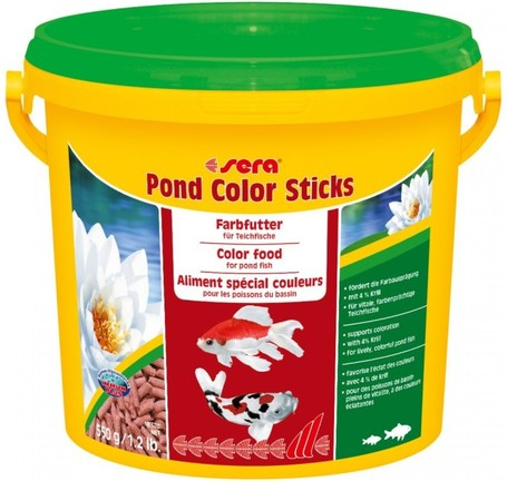 Sera Pond Color Sticks kerti tavi haltáp