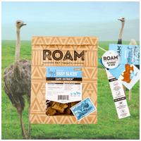 Roam - Fagyasztva szárított 100% strucc jutalomfalat allergiás kutyáknak